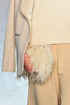 Jenny Packham at New York Fashion Week Fall 2014 - Details Runway Photos Fall Winter 2014, Autumn, Beige Style, Jenny Packham, Beautiful Outfits, Runway, New York, Detail, Neutral