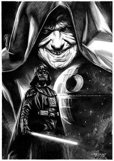 Star Wars Empire by Drumond Art