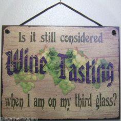 Wine Sign Tasting Winery Glasses Grapes Making Vinyard Drinking Restaurent Decor   eBay