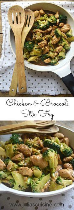 Chicken & Broccoli Stir Fry http://www.juliascuisine.com/home/chicken-broccoli-stir-fry