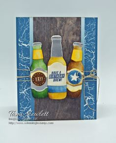 21st Birthday Brew | Swimming In Stamps