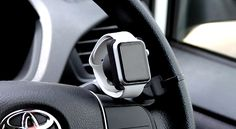 "Apple: Apple Watch: Apple Watch dedicated, car-mounted holder ""Oh-Thumb"" (Awesome) 