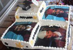 Photo Graduation Cake