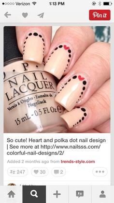 Dying to try this on my mom! Using a doting tool and a detail brush! Easy as pie
