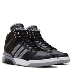 adidas Men's Neo Raleigh BB9TIS High Top Sneaker Shoe