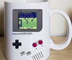 Nintendo Game Boy Legend of Zelda Pokemon Tetris Gameboy Coffee Mug Video game mug Game Boy, Pc Game, Zelda Video Games, Retro Video Games, Retro Games, Retro Toys, Choses Cool, School Games, Nintendo Games