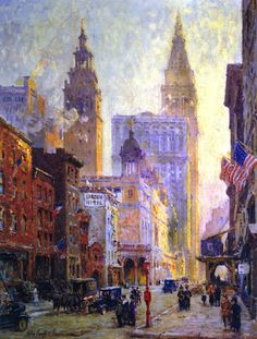 Colin Campbell Cooper ~ Impressionist painter