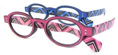 Spring is here!  Ropa fashion print frame readers at Debspecs