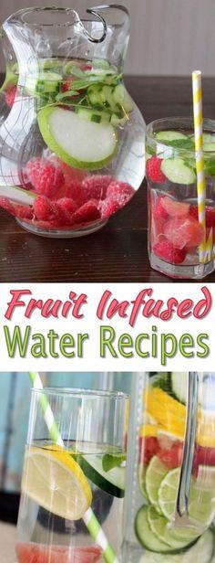 DIY Detox Water Recipes | WeLoveIt