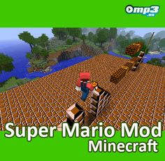 Super Mario Mod para Minecraft -   Gracias a este programa, puedes disfrutar de uno de los mayores clásicos de Nintendo en tu mundo Minecraft. ¡Diviértete a lo grande!  http://descargar.mp3.es/lv/group/view/kl228751/Super_Mario_Mod_for_Minecraft.htm?utm_source=pinterest_medium=socialmedia_campaign=socialmedia
