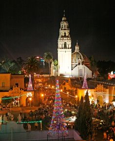 December Nights is a FREE Family Event held in Balboa Park in San Diego by isabella