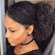 Sleek Pony   It's easy to find yourself in a rut when it comes to styling your natural hair.