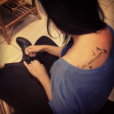 alis volat propriis -she flies with her own wings                                                                                                                                                                                 More