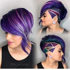 This is incredible!!! @pink_nouveau #undercut #sidecut #sidecutdesign #geometric…