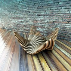 The Parametric Table :The parametric table is a great creation by Denis Homaykov. The curves of this exquisite piece of furniture rise and fall creating an