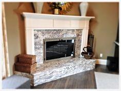 Fireplace Glass Doors, Custom Fireplace, Hearth, Family Room, Living Spaces, Design, Home Decor, Log Burner, Home