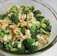 Broccolicauliflower Salad Recipe - Genius Kitchen