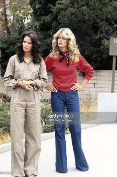 ANGELS - 'Consenting Adults' - Season One - 12/8/76 Jill (Farrah Fawcett-Majors, right) must elude a racketeer's henchman. Jaclyn Smith (Kelly) also starred.