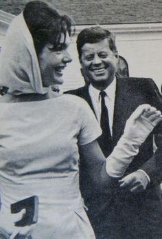 jackie bouvier kennedy onassis laughing with jfk.jpg
