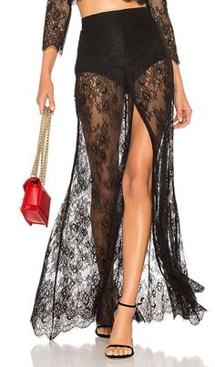 12 Sheer Maxi Skirts from High to Low