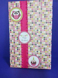 Birthday card - handmade greeting cards