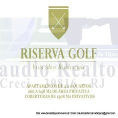 Riserva Golf Vista Mare Residenziale Barra da Tijuca Rio de Janeiro, RJ