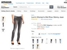 Levi's Women's Mid Rise Skinny Jean. The Levi's brand embodies a pioneering spirit that is always driven to innovate. Levi's jeans have been worn by presidents and ranchers, Americans and Russians, doctors and outlaws, kings and coal miners. They are a common thread with a common promise: to provide quality clothing in which to Go Forth.