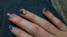 Amazing nail art with fruit