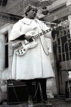 Sister Rosetta Tharpe (March 20, 1915 — October 9, 1973) was an American pioneering gospel singer, songwriter and recording artist who attained great popularity in the 1930s and 1940s with a unique...