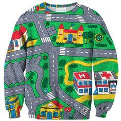 Carpet Track Sweater