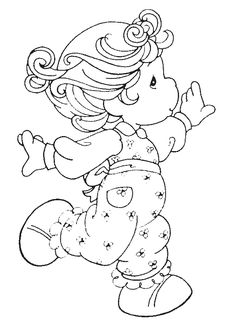 Free printable precious moments coloring pages for kids. Color this online pictures and sheets and color a book of precious moments sheets. Coloring Book Pages, Printable Coloring Pages, Coloring Sheets, Free Coloring, Coloring Pages For Kids, Kids Coloring, Precious Moments Coloring Pages, Digi Stamps, Copics