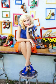 Bring on spring heels! @MizMooz shoes are the most comfortable, stylish shoes a girl could ask for. #Fashion