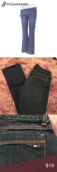 "🍀❤️Tommy Hilfiger 💙 Jeans 👖 Straight sz 6 Show off your sexy curves in these Tommy Hilfiger jeans. The jeans are a straight cut with a low rise. The jeans measure 30"" waist with a 28"" inseam and 8"" rise. 💖Thank you for visiting my closet 💖  🛍 Bundle and save 20%!!!  🚭This item comes from a smoke- free home 🐖 This item comes from a pet- free home 🤔 Please feel free to contact me with questions 🤗 💜💙❤️ Happy Poshing ❤️💙💜 Tommy Hilfiger Jeans Straight Leg"