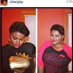 Charyjay @ naturally supreme