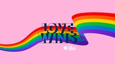 Love Wins. Happy Pride Month #pride #pridemonth #lovewins #thedesignagency    #pride #PrideMonth #theDesignAgency Greek Memes, Creative Communications, The Agency, Design Agency, Social Media Tips, Service Design, Pride, Web Design, Love You