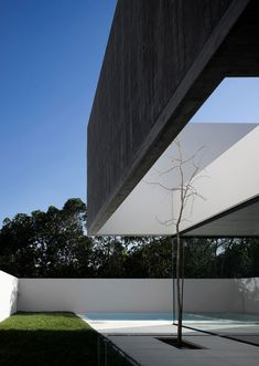 | LANDSCAPING | FLORAL | Photo Credit: Unknown. House in Juso by ARX Portugal. Beautiful #landscaping meets #architecture