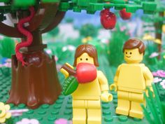 Finally, biblical stories the way they were intended to be told— entirely with Legos.At 4,500 illustrations of over 400 stories,