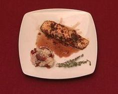 Rezept: Risotto mit Lachs und Blutorange (Tanja Wenzel)