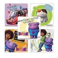 Dreamwork's Home Movie Stickers - 75 ct