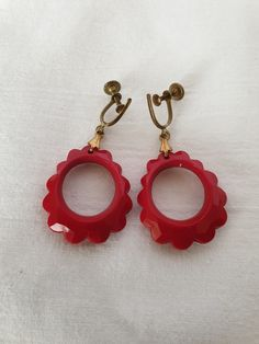 Plastic Earrings, Drop Earrings, Personalized Items, Vintage, Collection, Jewelry, Fashion, Moda, Jewlery