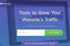 SumoMe, il plug-in per condividere articoli e immagini sui social networks, che sempre più webmasters installano sui siti web.