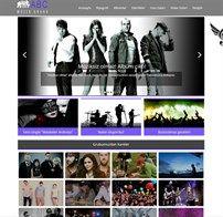 Müzik Grubu İnternet Sitesi