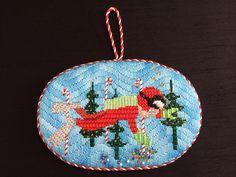 Christmas Scuba Diver Ornament
