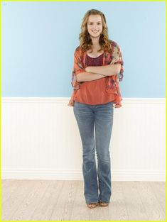 Good Luck Charlie: New Promo Pics!: Photo Check out these new promo pics of Mia Talerico and Bridgit Mendler from Good Luck Charlie! Teddy Duncan, Riley Matthews, Tv Show Outfits, Bridgit Mendler, Teen Photo, Celebrity Feet, Celebrity Couples, New Wardrobe, Wardrobe Ideas
