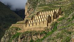 Pinkuylluna is an archaeological site on a mountain of the same name in Peru. It is situated between the rivers Patakancha (Patacancha) and Willkanuta, northeast of the town Ollantaytambo.