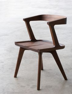 For the lover of more natural contemporary furniture:   Colombo Dining Chair by Matthew Hilton