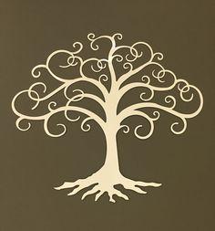 Tree of Life industrial metal wall art