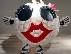 'Gepimpte hockeybal' gemaakt van 200 plastic bekers! Sinterklaassuprise 2015