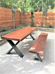 Beautiful design and High Quality! Sturdy, Extra Heavy Duty steel tubing legs. Load up to 3000 lbs. on this set of 2 legs. This listing is for set of 2 Steel Tubing X Legs. - Made from Steel Tubing - 6 x 2 x 1/8 wall Will be shipped separately each leg, because every leg is over 60 lbs. -
