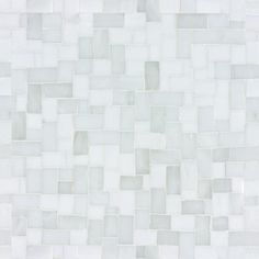"Artistic Tile ""Be Bop White Miles Modular""    Varying shades of glacial white and whitish-grays arranged in a mini version of ancient Byzantine modular paving patterns, mesh mounted for ease of installation on 9-1/2"" X 9-1/2"" X 1/8"" (0.63 sf) interlocking sheets.    OK for shower floor"
